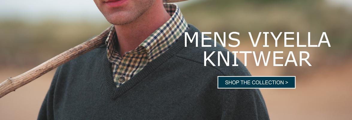 Buy Mens Viyella Knitwear