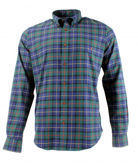 Viyella Cotton Club Check Modern Fit Shirt
