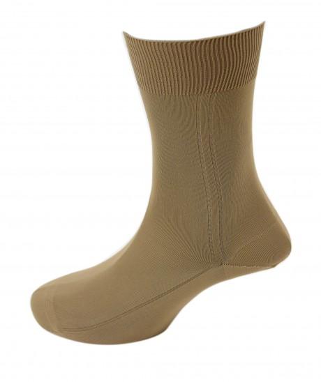 Viyella Mens 100% Nylon Plain Dress Sock