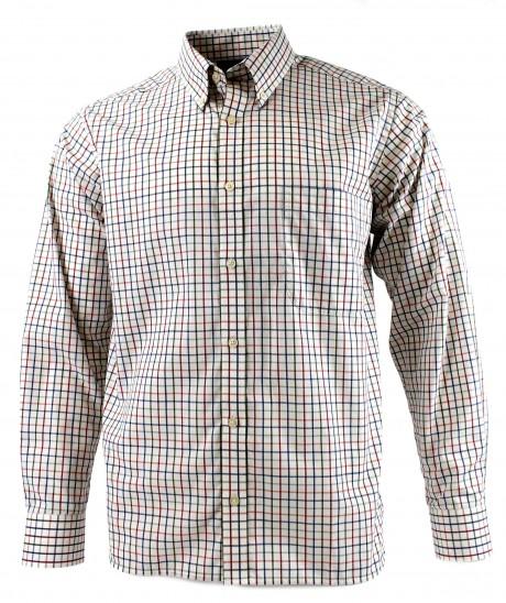 Viyella Multi-Coloured Classic Tattersall Cotton Shirt