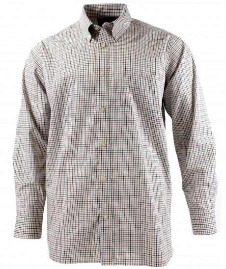 Viyella Multi-Coloured Mini Tattersall Cotton Shirt