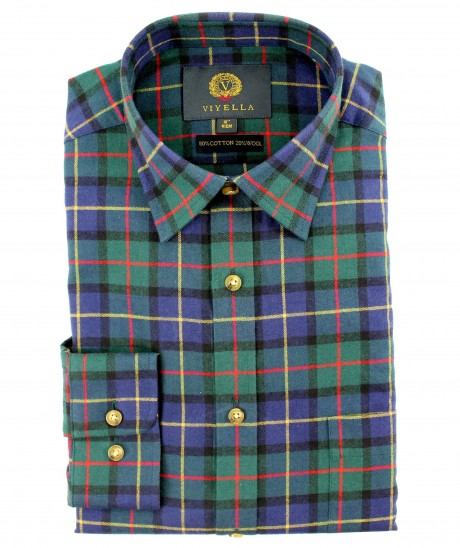 Viyella 80/20 House Check Classic Fit Shirt
