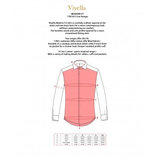 Viyella Cotton Club Check Modern Fit Shirt