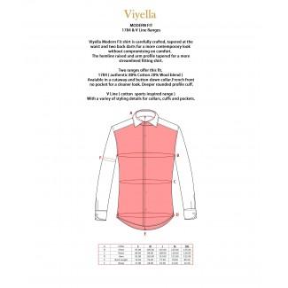 Viyella 80/20 MacCallum Tartan Modern Fit Shirt
