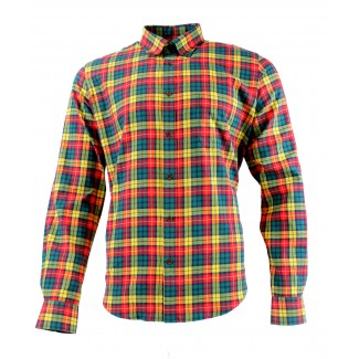 Viyella Cotton Buchanan Tartan Modern Fit Shirt