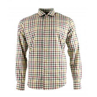 Viyella 80/20 Multicoloured Medium Tattersall Modern Fit Shirt