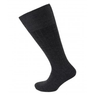 Viyella Mens Wool Half Hose Ribbed Sock