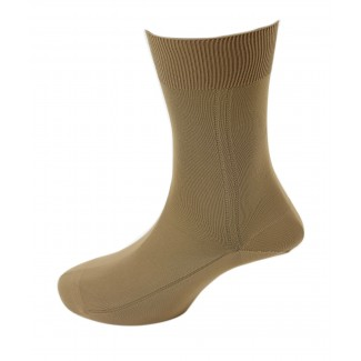 Viyella Mens 100% Nylon Plain Dress Sock