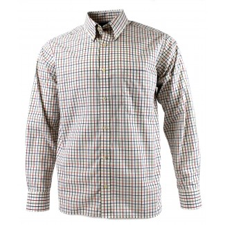 Viyella Multi-Coloured Classic Tattersall Cotton Shirt