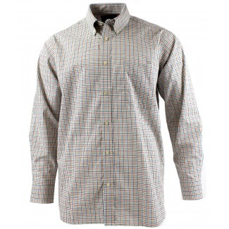 Viyella Multi-Coloured Mini Tattersall Cotton Shirt