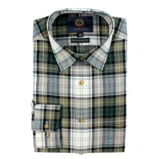 Viyella 80/20 Campbell Dress Tartan Classic Fit Shirt