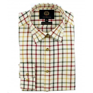 Viyella 80/20 Multicoloured Medium Tattersall Classic Fit Shirt