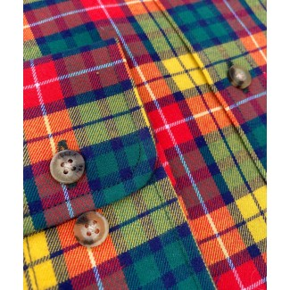 Viyella Cotton Buchanan Tartan Classic Fit Shirt