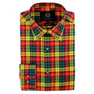 Viyella Cotton Buchanan Tartan Classic Fit Shirt