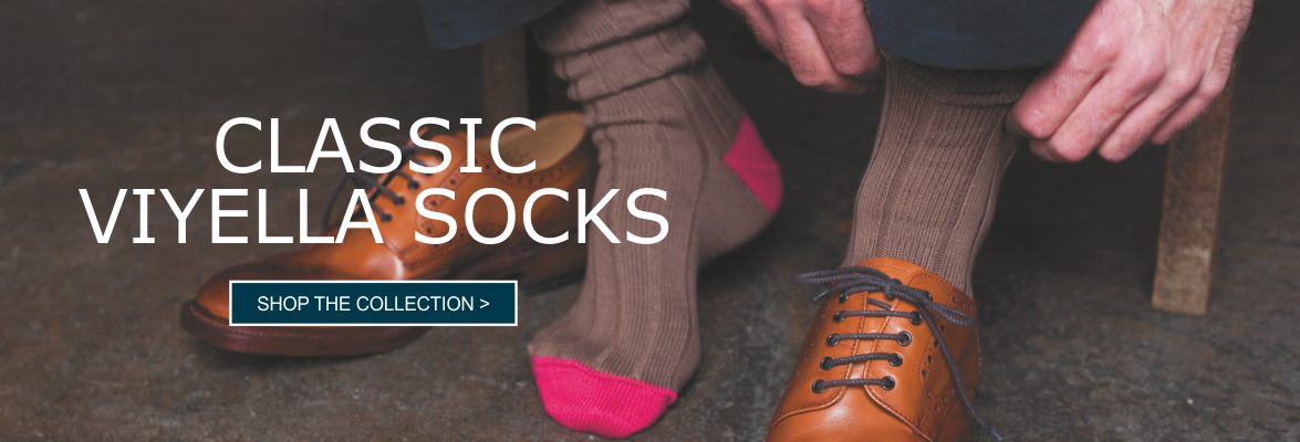 Buy Mens Viyella Socks